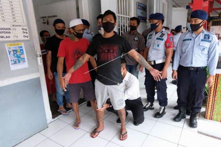 Razia narkoba di Rutan Temanggung