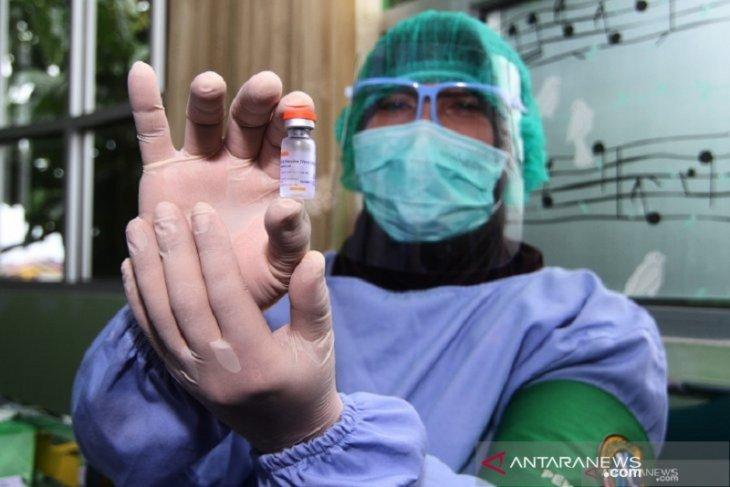 3.998 tenaga kesehatan Babel disuntik vaksin COVID-19