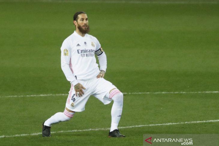 Sergio Ramos positif terinfeksi COVID-19