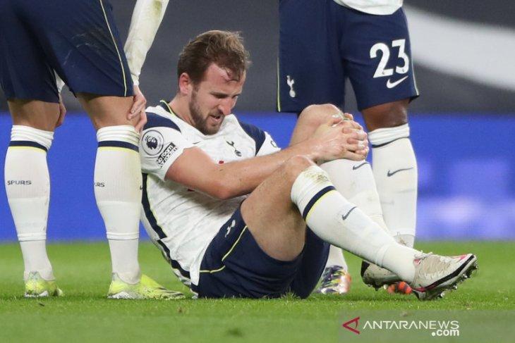 Cedera, Spurs terancam kehilangan Harry Kane beberapa pekan