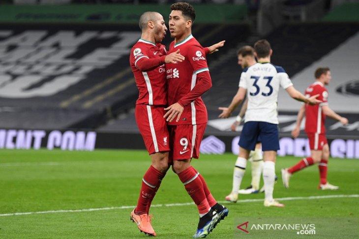 Liverpool akhirnya menang lagi setelah hajar Tottenham 3-1