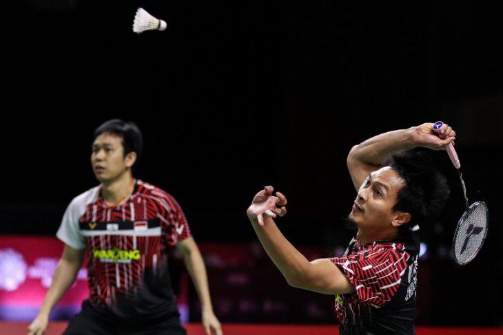 Ganda Indonesia, Hendra/Ahsan siapkan mental dan fisik hadapi semifinal WTF