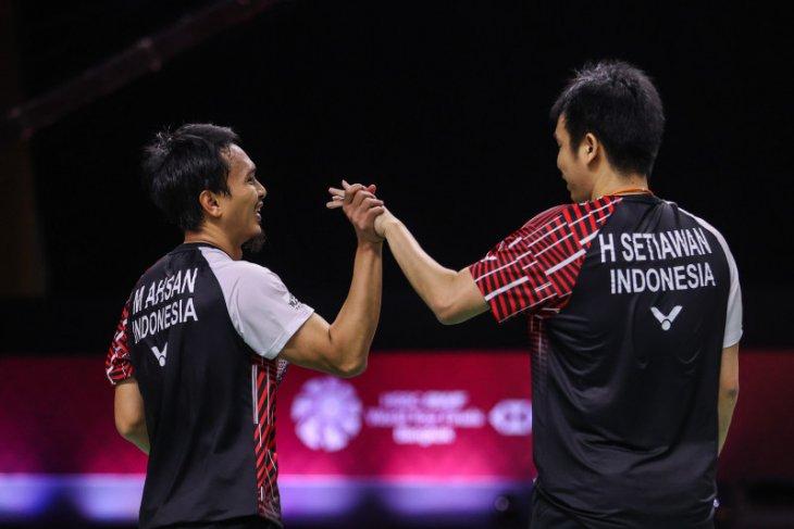 Tundukan pasangan Korea, Hendra/Ahsan melenggang ke final WTF