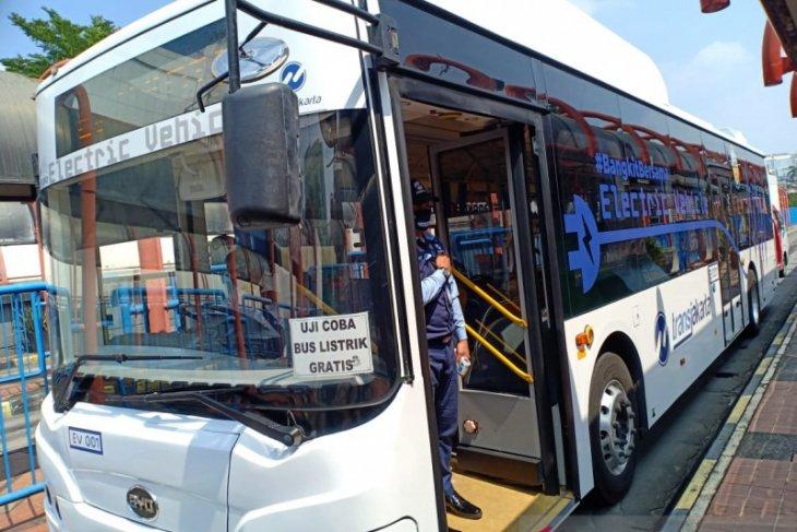 TransJakarta targetkan 100 unit bus listrik beroperasi tahun 2021