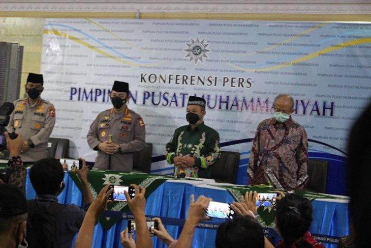 Kapolri Sigit ingin bersinergi dengan Muhammadiyah