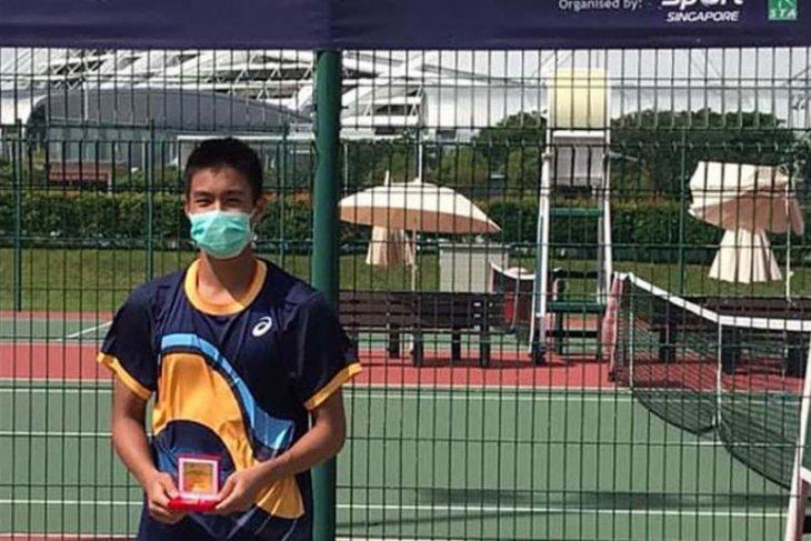 Petenis junior Indonesia Nathan Barki menangi gelar Singapore ITF Junior Championship