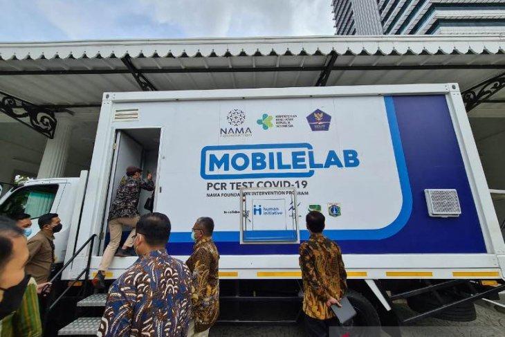Kasus COVID-19 tinggi, Human Initiative sumbang mobile lab PCR
