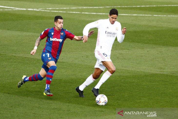 Real Madrid dipermalukan oleh Levante