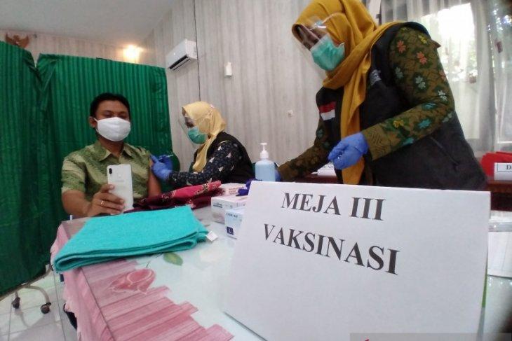 Capaian vaksinasi COVID-19 di Situbondo baru 22 persen