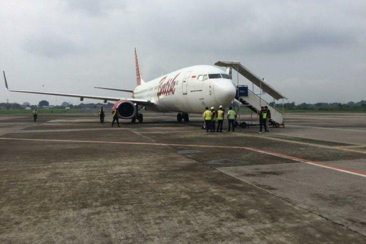 Cuaca buruk, dua pesawat tujuan Semarang mendarat darurat di Bandara Adi Soemarmo