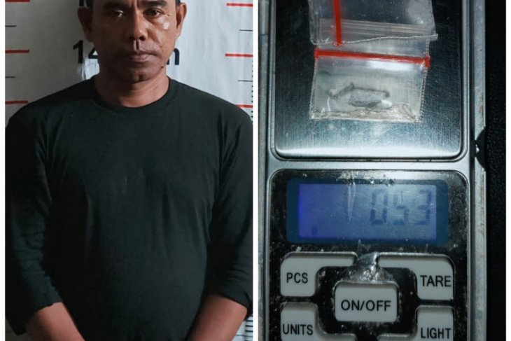Polsek Pangkalan Brandan tangkap Pak Leng nelayan pengedar sabu-sabu