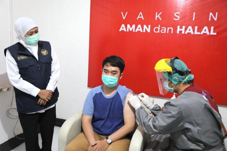 Pemprov Jatim dorong percepatan vaksinasi COVID-19
