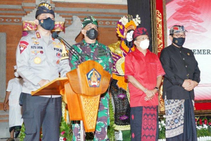 TNI-Polri dukung penerapan keamanan berbasis Desa Adat di Bali
