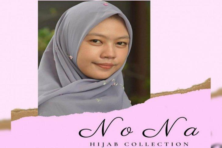 Hijab sulam yang hanya diproduksi satu setiap seri