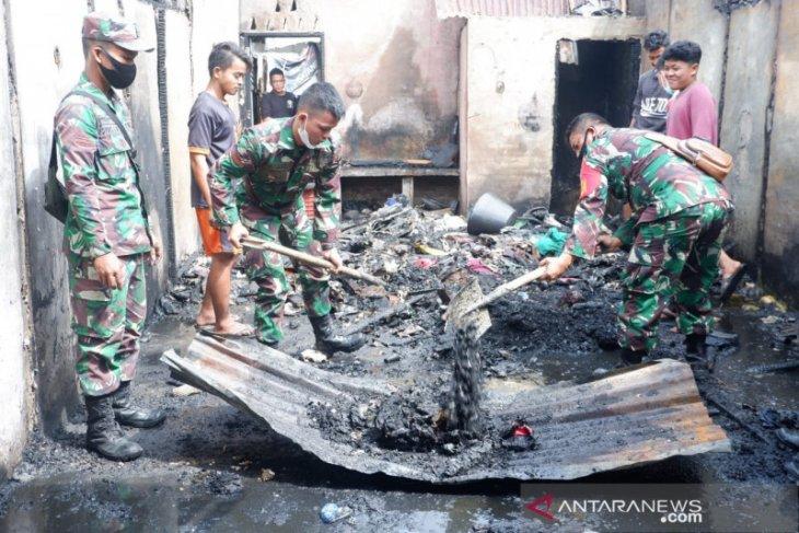 Danrem 023/KS langsung kerahkan personel bantu korban kebakaran di Sibolga