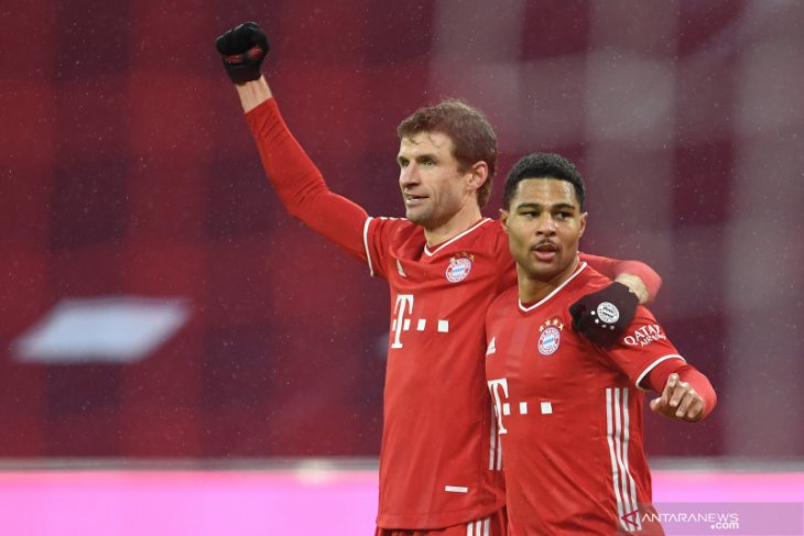 Liga Jerman, Bayern hancurkan Hoffenheim, Frankfurt ke posisi tiga
