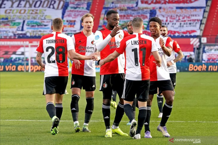 Liga Belanda, Feyenoord kembali ke jalur kemenangan setelah bungkam PSV Eindhoven