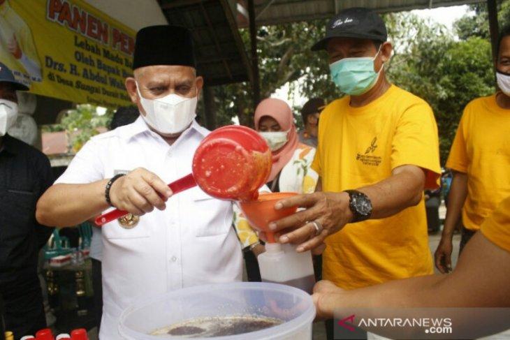 Wahid dukung budidaya lebah madu Bahusutra