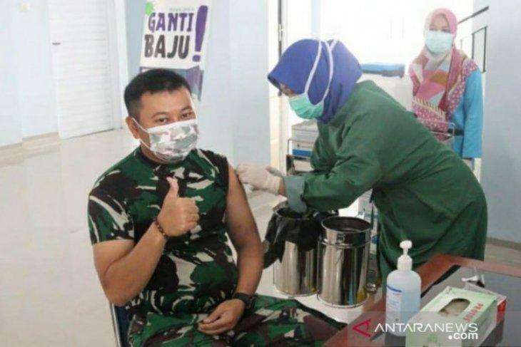 Dandim 0414 Belitung imbau masyarakat tidak ragu divaksin COVID-19