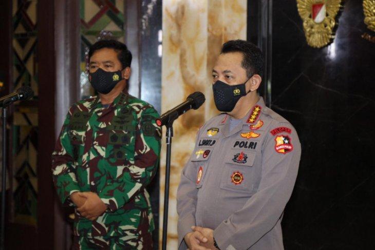 Kapolri silaturahim dengan Panglima TNI untuk tingkatkan soliditas