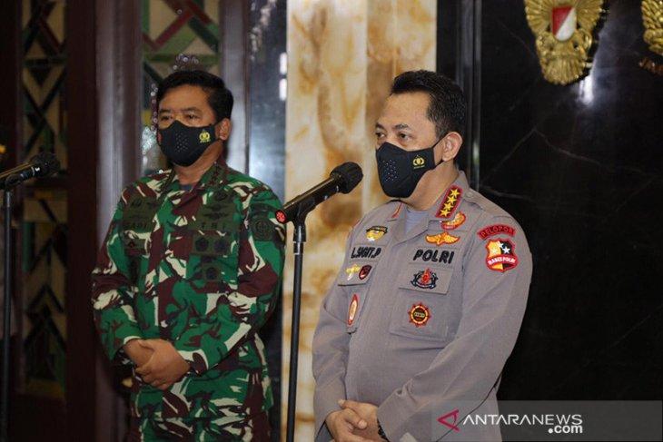 Tingkatkan soliditas, Kapolri silaturahmi dengan Panglima TNI