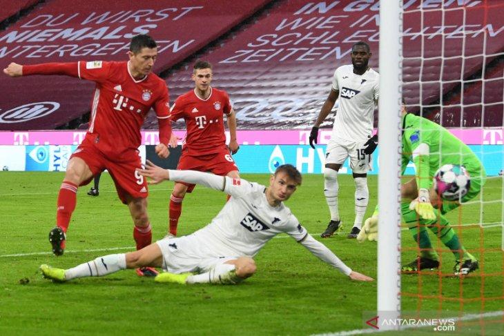 Klasemen Liga Jerman: Bayern menjaga keunggulan tujuh poin atas Leipzig