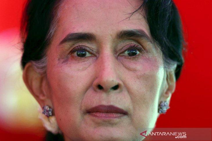 Pemimpin Myanmar Aung San Suu Kyi ditangkap