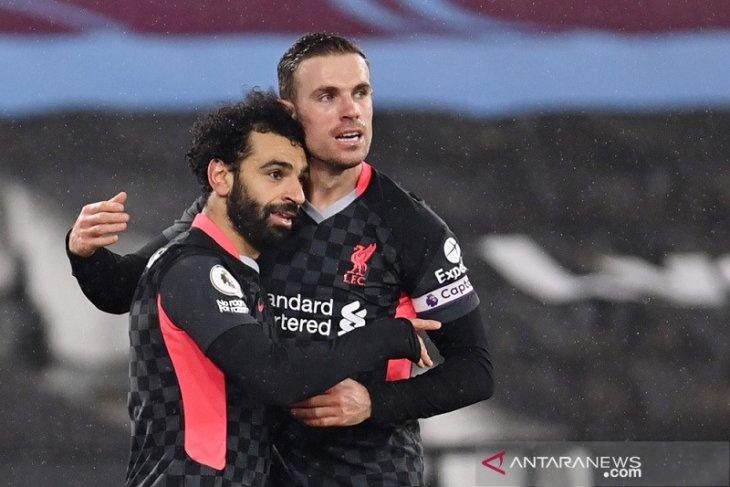 Liga Inggris, Liverpool sodok tiga besar setelah pungkasi tren positif West Ham