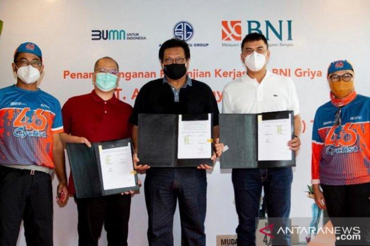 BNI gandeng pengembang Agung Sedayu Group genjot pembangunan KPR