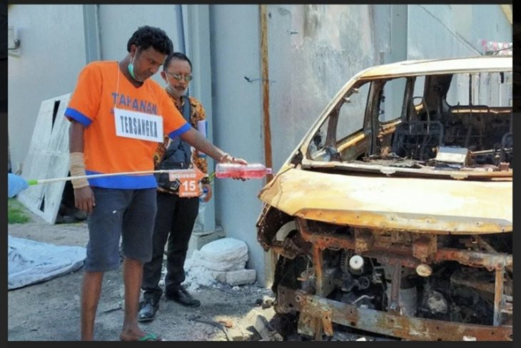 Terdakwa pembakar mobil Via Vallen divonis enam tahun penjara