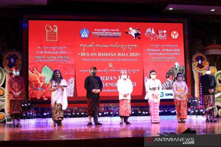 Gubernur: Bahasa Bali tetap terjaga di tengah pandemi
