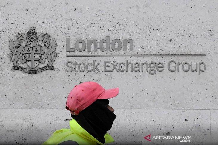 Saham Inggris menguat, indeks FTSE 100 ditutup naik 0,10 persen