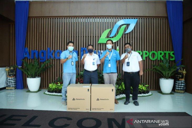 Bandara Ngurah Rai terima bantuan 4.000 masker untuk petugas bandara