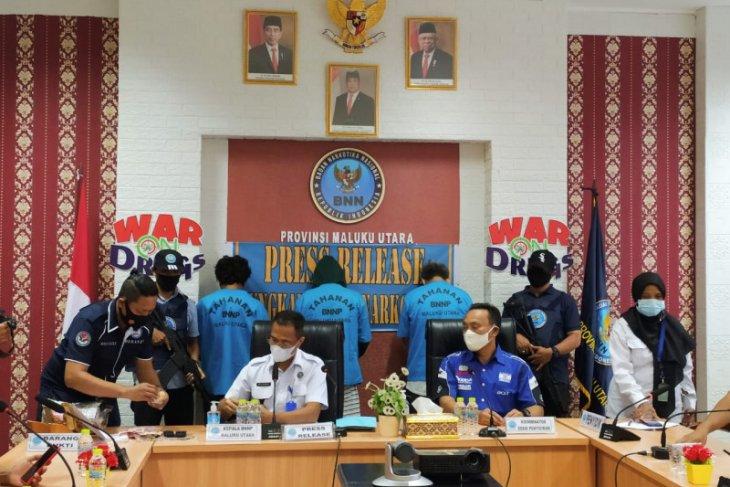 BNNP Malut ungkap kasus narkoba jaringan antarlapas
