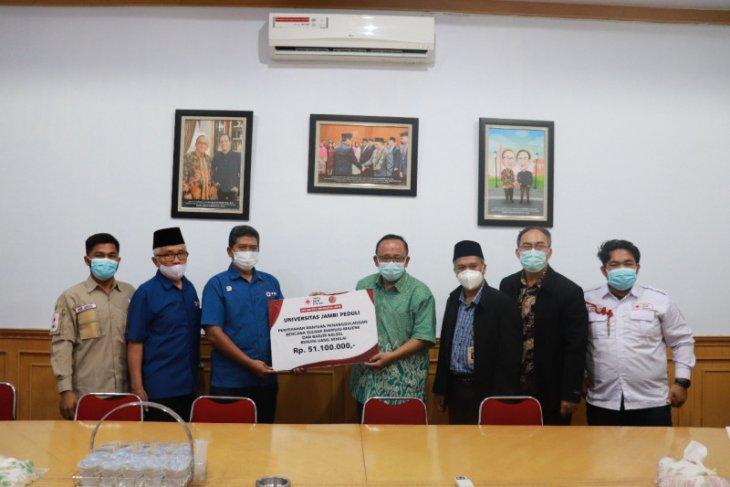 Universitas Jambi menggalang dana untuk bencana di Kalimantan dan Sulawesi
