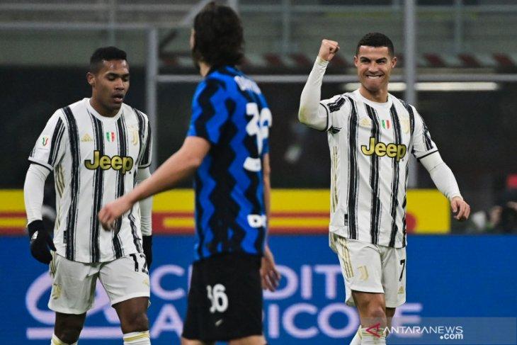 Ronaldo bawa Juventus menangkan leg pertama semifinal
