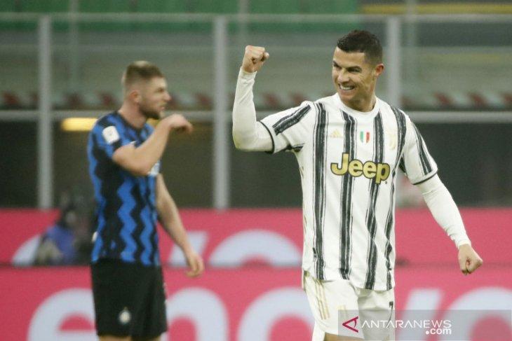 Juve naik ke posisi ketiga usai kalahkan Roma