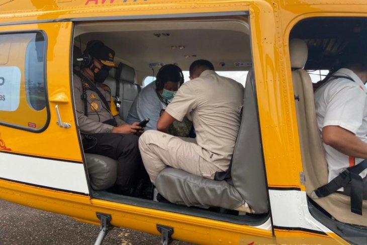 Usai patroli udara, Kapolda Jambi peroleh info lapangan peta penanganan potensi Karhutla