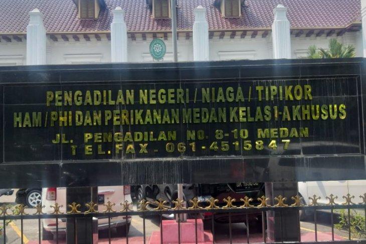 PN Medan terima kasus perkara korupsi Pemkab Labuhanbatu Utara