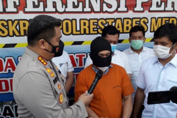 Polisi amankan tersangka pemalsu pinjaman GOR Dispora Sumut