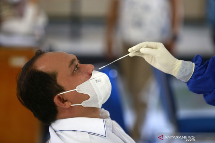 BPTP Gorontalo gelar rapid antigen ke seluruh pegawai