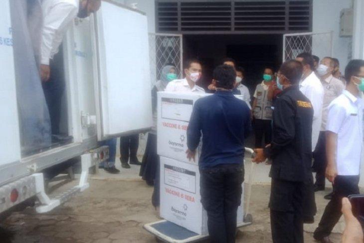 2.840 vaksin COVID-19 tiba di Tebo, Kamis besok suntik perdana