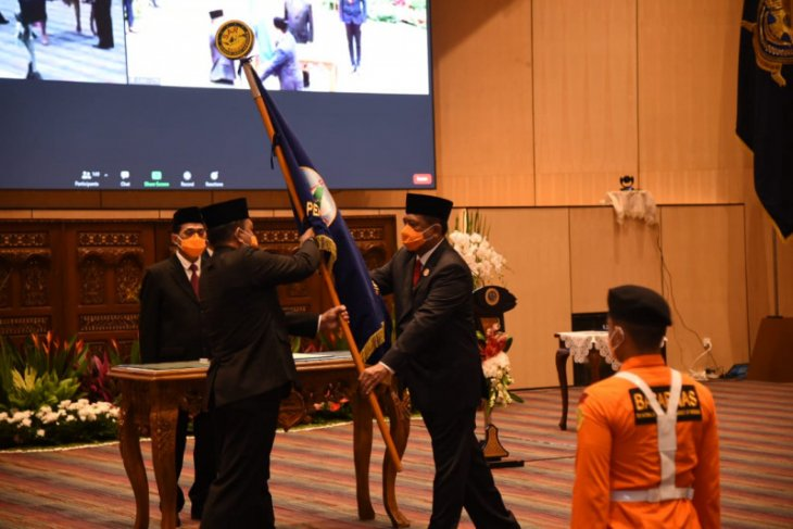 Marsda TNI Henri Alfiandi dilantik sebagai Kepala Basarnas