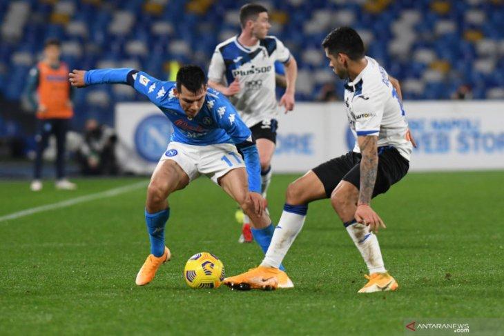 Napoli kontra Atalanta berakhir imbang tanpa gol di Piala Italia
