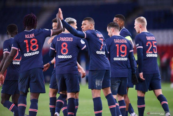 Liga Prancis: PSG dan Lyon kompak raih poin penuh dari lawannya masing-masing