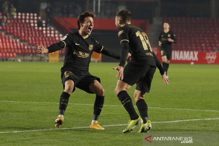 Barcelona susah payah menuju semifinal Copa del Rey
