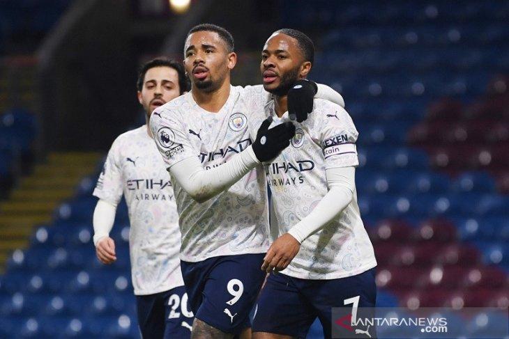 Manchester City kembali jaga jarak di puncak