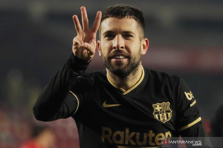 Bek kiri Barcelona, Jordi Alba diincar Inter Milan