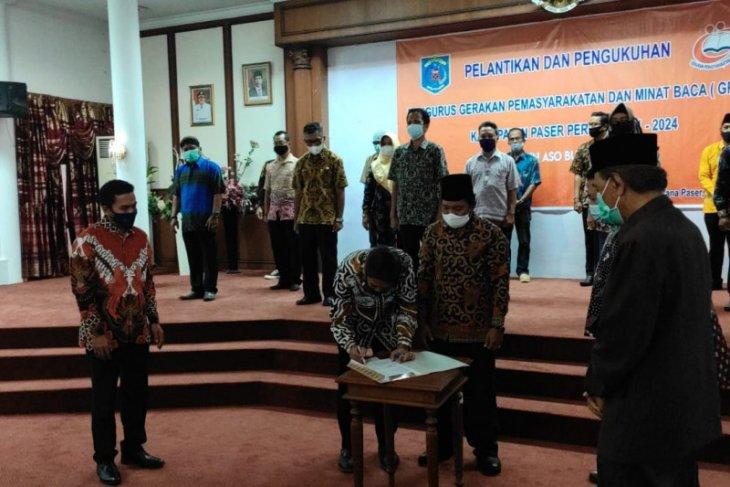 Pengurus GPMB Paser periode  2020-2024  dilantik