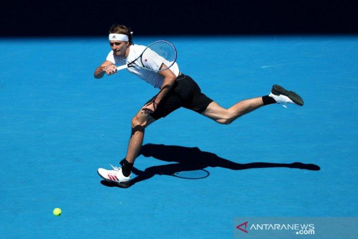Alexander Zverev melupakan kekalahan dari Novak Djokovic